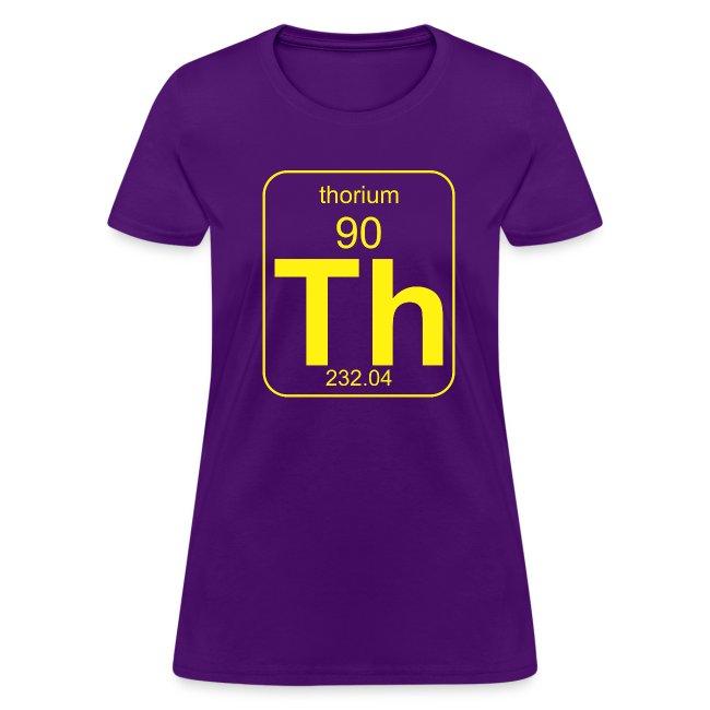 Thorium PToE b f