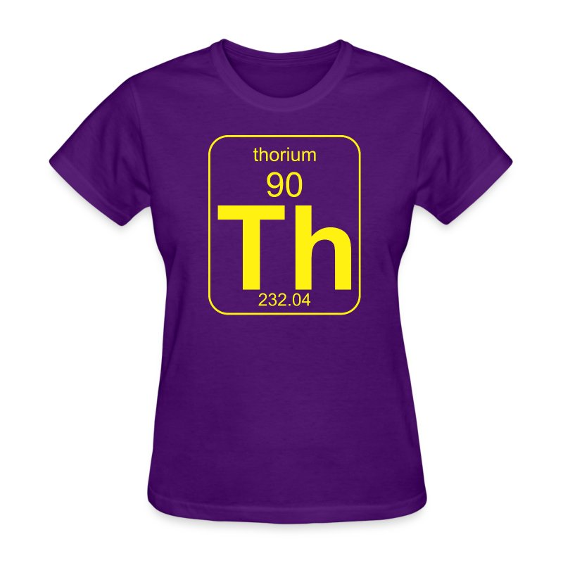 Thorium PToE b f - Women's T-Shirt
