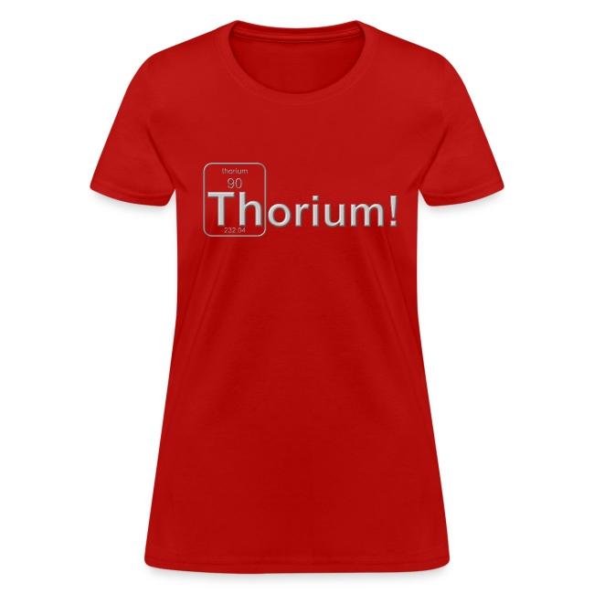 Thorium! 3D f