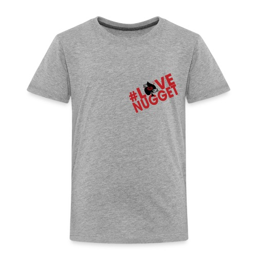 Toddler Slant LoveNug Premium Tee - Toddler Premium T-Shirt
