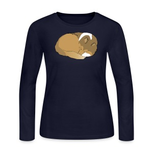 Sweet Dreams - Long Sleeve Womens - Women's Long Sleeve Jersey T-Shirt