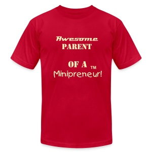 Awesome Parent-Mens T-Shirt-Red - Men's Fine Jersey T-Shirt