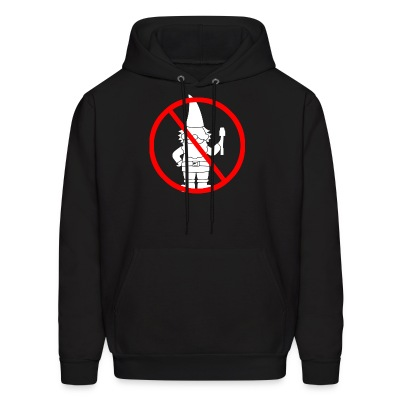 Don't be a Garden Gnome Hoodie - Men's Hoodie
