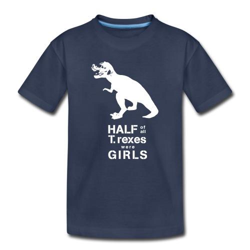 T. rex Toddler Tee - Toddler Premium T-Shirt
