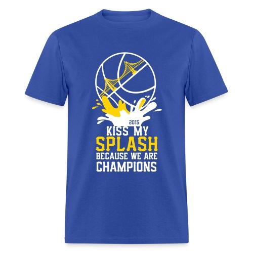 Kiss my splash - Men's T-Shirt