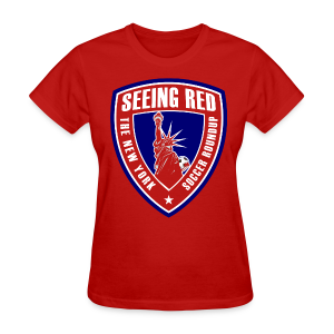 Seeing Red! Logo - Women's T-Shirt, Red - Women's T-Shirt