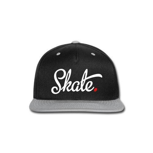 1St Official Crown1 Skate Flat Rim Hat - Snap-back Baseball Cap