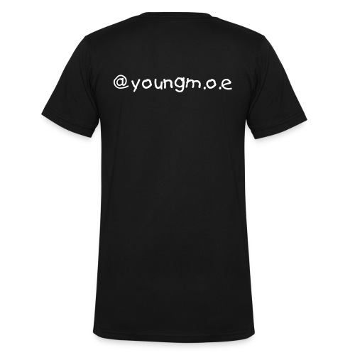 @youngm.o.e promo shirt - Men's V-Neck T-Shirt by Canvas