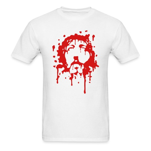 Jesus in Blood - Men's T-Shirt