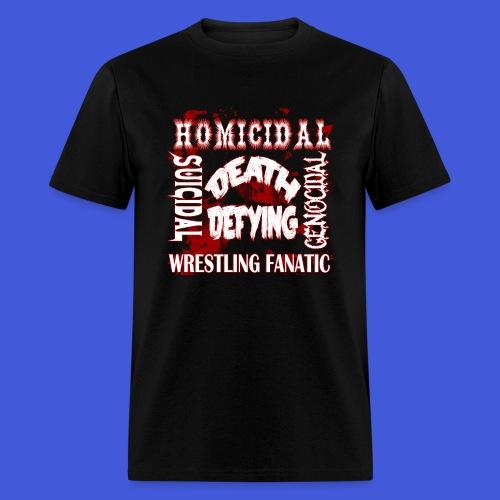 HSGDD Wrestling Fanatic (Men) - Men's T-Shirt
