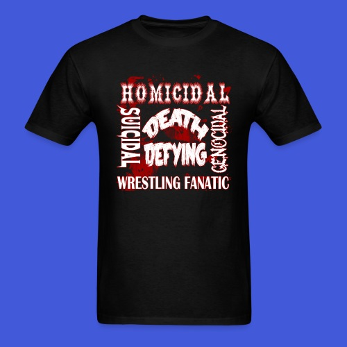 HSGDD Wrestling Fanatic (Men) - Men's T-Shirt