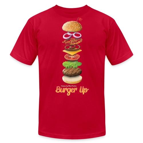 Burger Up (Mens) - Men's  Jersey T-Shirt