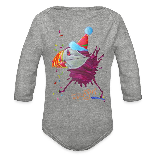 MR. PUFFIN - front print - 6/18 months - multi colors