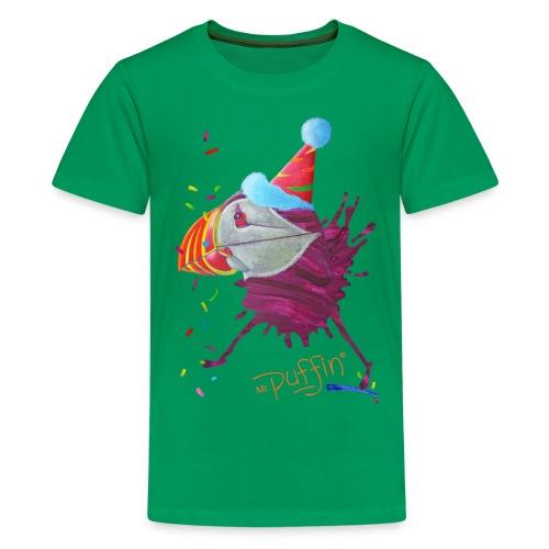 MR. PUFFIN - front print - xs/l kids - multi colors - Kids' Premium T-Shirt