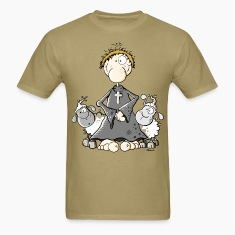 Pastor with sheep T-Shirts