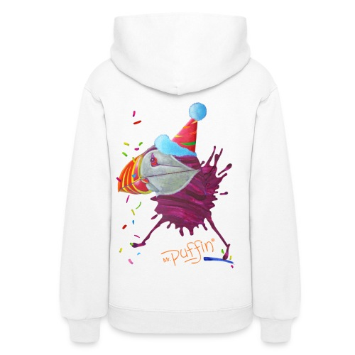 MR. PUFFIN - back+front - s/xxl - multi colors - Women's Hoodie