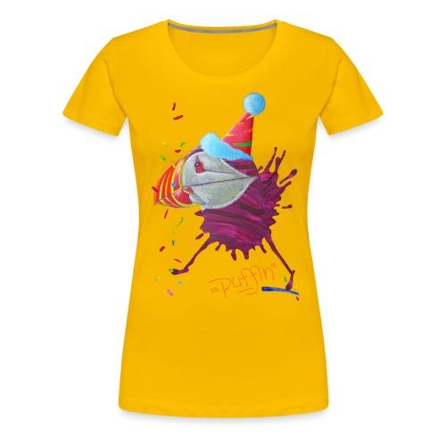MR. PUFFIN - front print - s/3xl - multi colors - Women's Premium T-Shirt