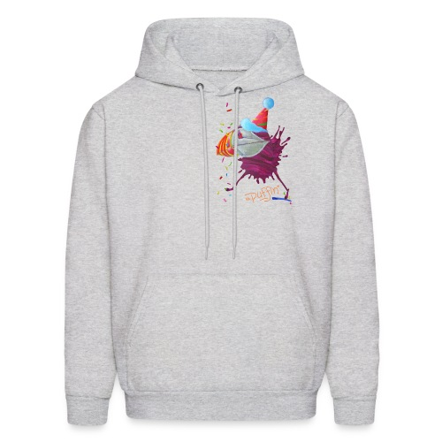 MR. PUFFIN - back+front - s/xxl - multi colors - Men's Hoodie