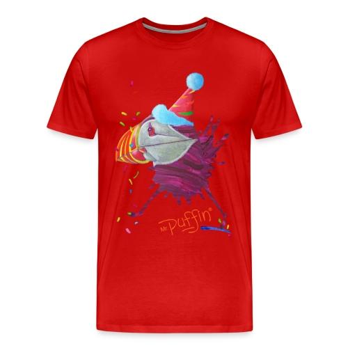 MR. PUFFIN - front print - s/5xl - multi colors - Men's Premium T-Shirt