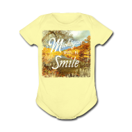 Baby Bodysuits ~ Baby Short Sleeve One Piece ~ Michigan Makes Me Smile