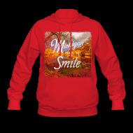 Hoodies ~ Women's Hoodie ~ Michigan Makes Me Smile