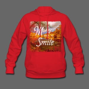 Michigan Makes Me Smile - Women's Hoodie