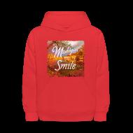 Sweatshirts ~ Kids' Hoodie ~ Michigan Makes Me Smile