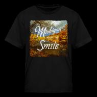Kids' Shirts ~ Kids' T-Shirt ~ Michigan Makes Me Smile