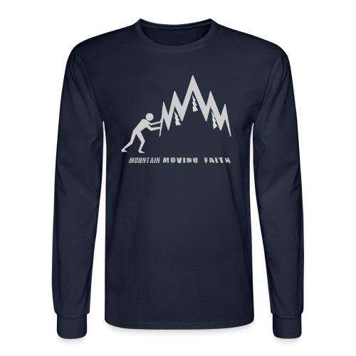 MOUNTAIN-MOVING FAITH - Men's Long Sleeve T-Shirt