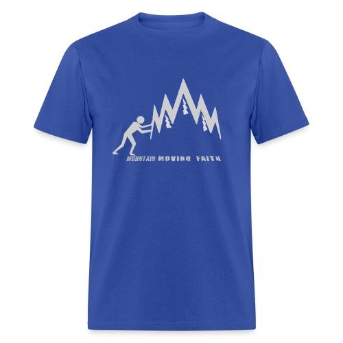 MOUNTAIN-MOVING FAITH - Men's T-Shirt