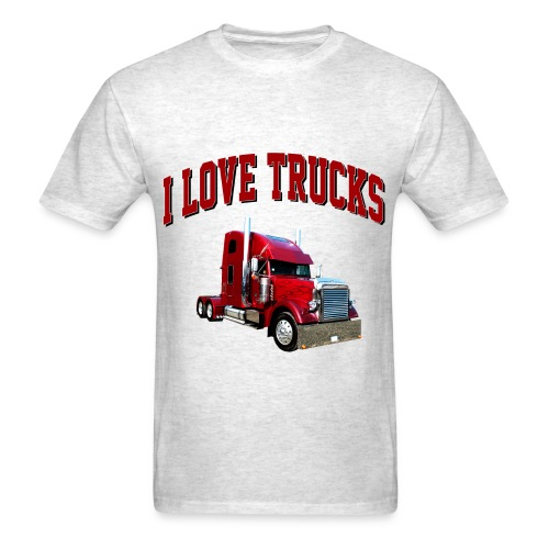 I Love Trucks - Men's T-Shirt