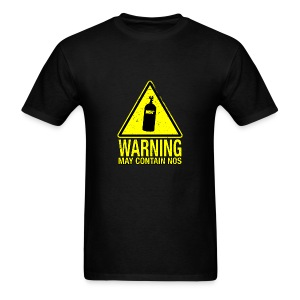 Warning May Contain NOS - Men's T-Shirt