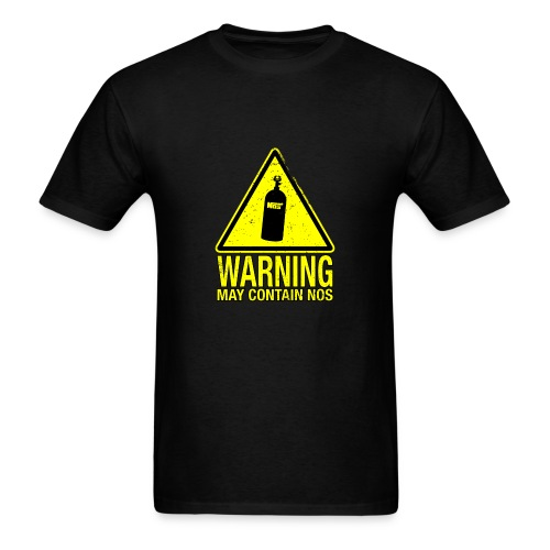 Warning May Contain NOS - Men's T-Shirt