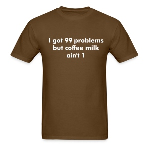 coffee milk - Men's T-Shirt