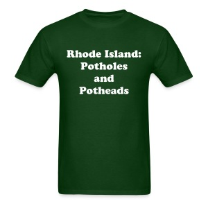 Potholes and Potheads - Men's T-Shirt