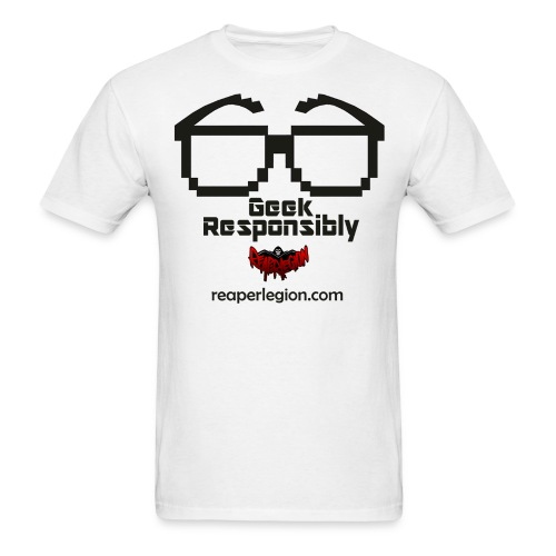 Geek Responsibly Tee Men's - Men's T-Shirt