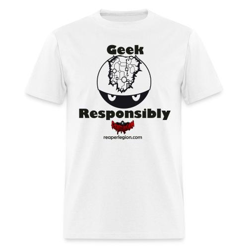 Geek Helmet Tee Men's - Men's T-Shirt