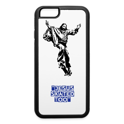 iphone 5/5s jesus skated too - iPhone 6/6s Rubber Case
