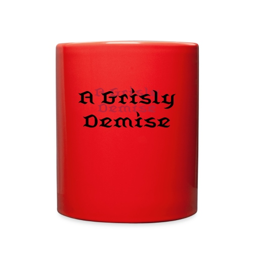 A Grisly Demise - Mug - Full Color Mug