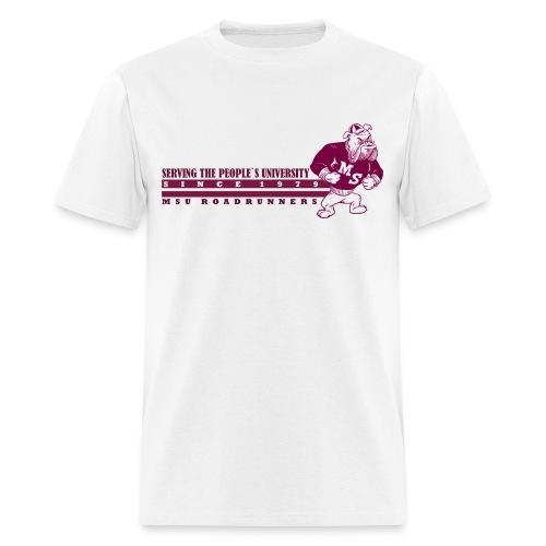 Serving the People`s University Retro Bully T - Men's T-Shirt