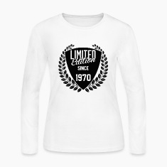 limited edition since 1970 Long Sleeve Shirts