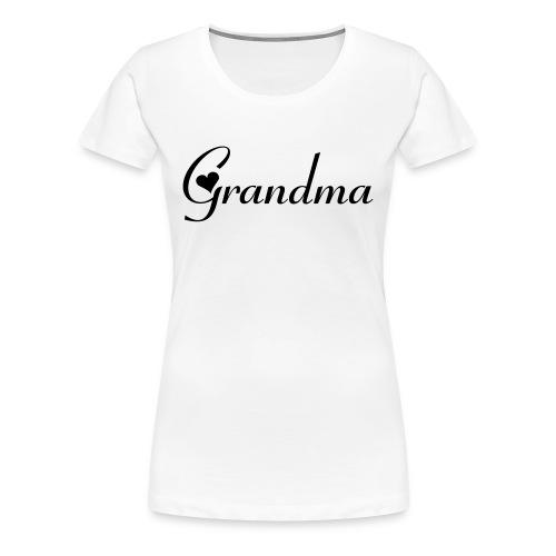 Grandma shirt - Women's Premium T-Shirt