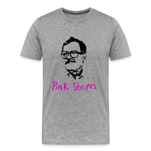 Pink Stripes - Men's Premium T-Shirt