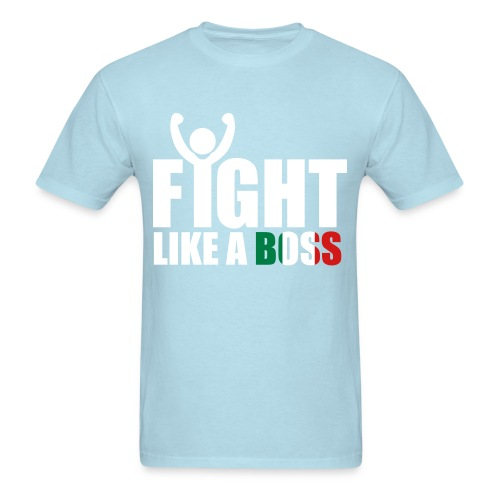 BE A DONOR/ FIGHTlIKEABOSS TSHIRT - Men's T-Shirt
