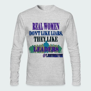 Real Women Like.. - Men's Long Sleeve T-Shirt by Next Level