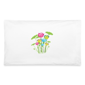 water lily flowers nature Pillowcase - Pillowcase
