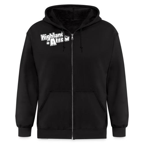 Men's HA Logo Zip Hoodie - Men's Zip Hoodie