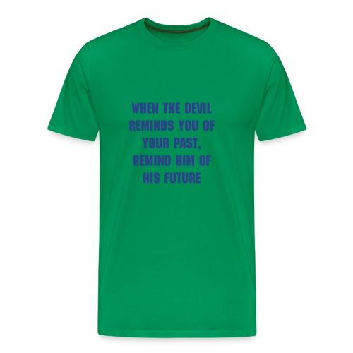 Mens Extended sizes St. Theresa quote t-shirt - Men's Premium T-Shirt