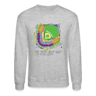 Long Sleeve Shirts ~ Crewneck Sweatshirt ~ Wrigley Field Seating Chart