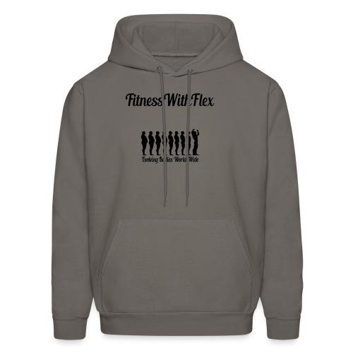 FitnessWithFlex Evolve Men's Hoodies - Men's Hoodie